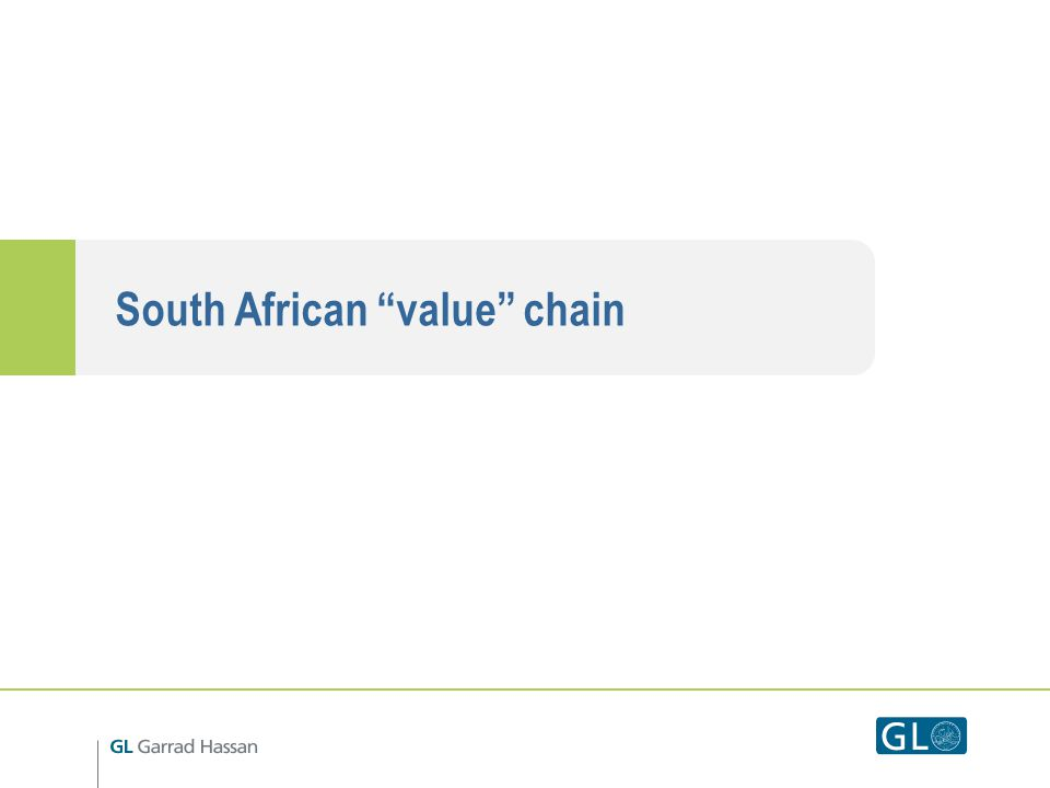 South African value chain