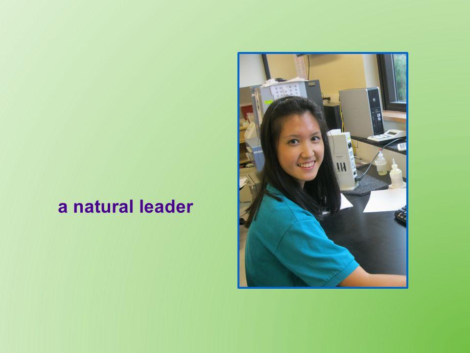 a natural leader