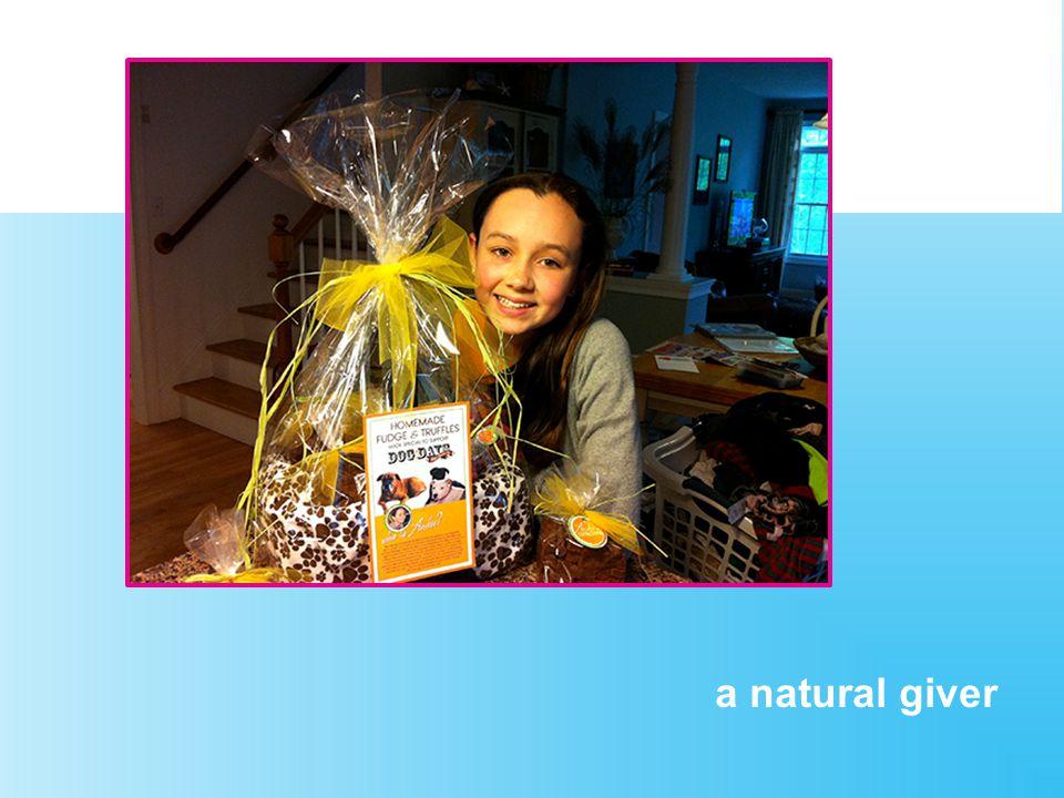 a natural giver