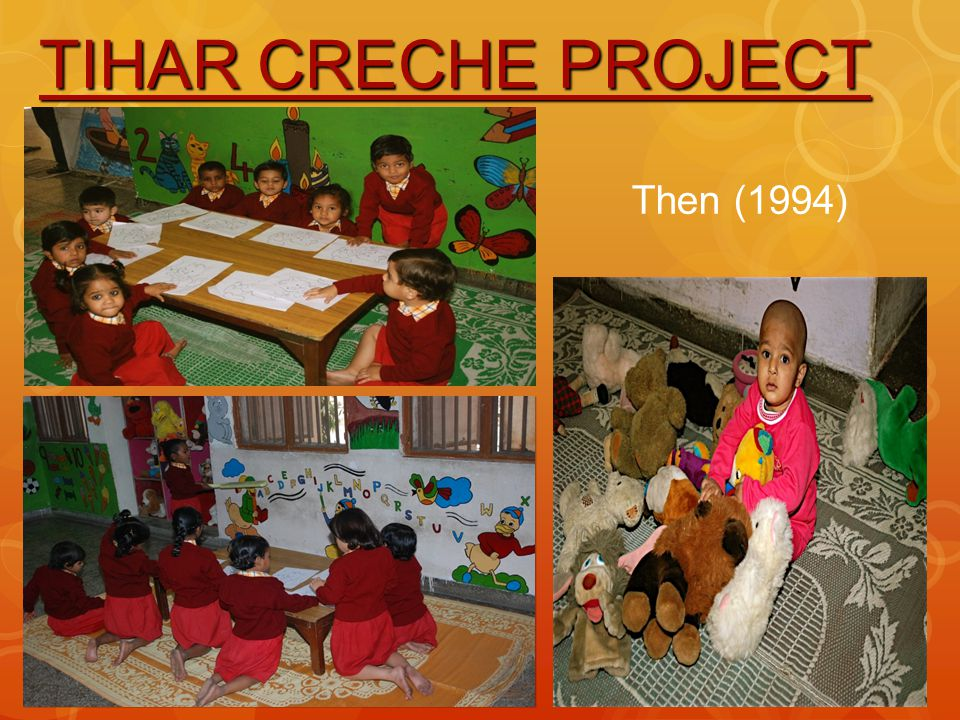 TIHAR CRECHE PROJECT Then (1994)