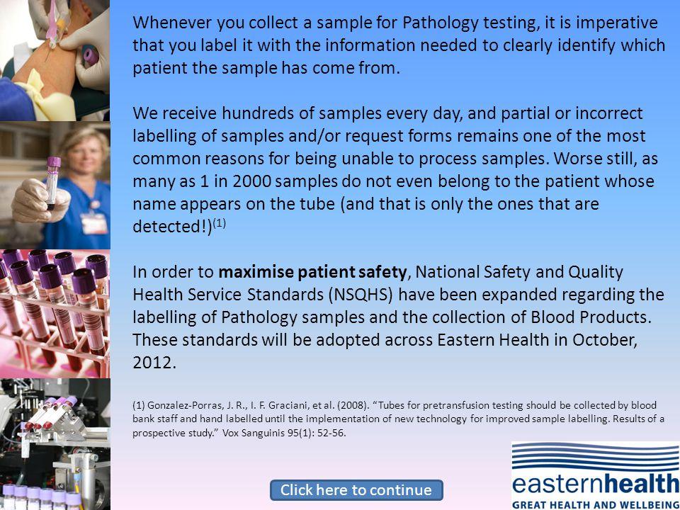 ANN CIZITEN 15/6/75 GN 19/9/12 1015 CITIZEN ANN 15 6 75 G.NURSE Grey Nurse 19 9 121015 TUBE REQUEST FORM MC 3454346782 3454 34678 2 Name on tube and form do not match RECOLLECT Acceptable.