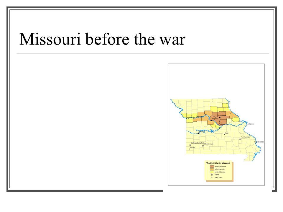 Missouri before the war