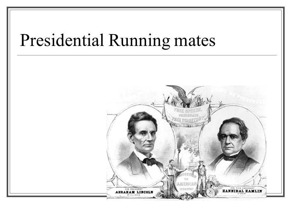 Presidential Running mates