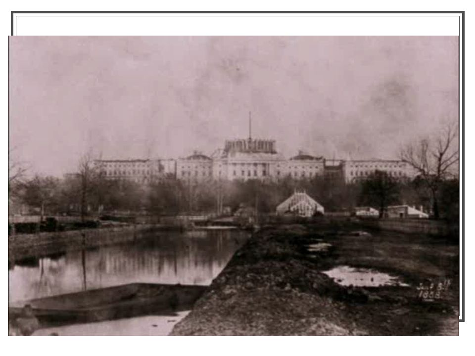 The Unfinished Capitol, 1861