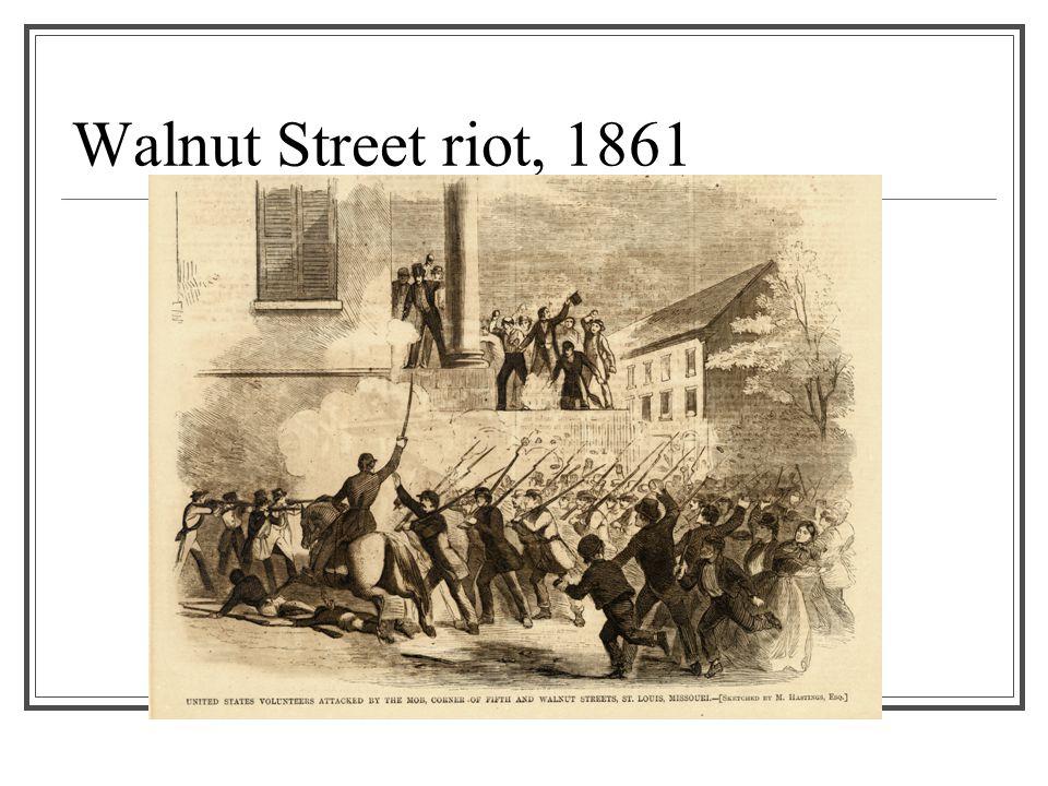Walnut Street riot, 1861