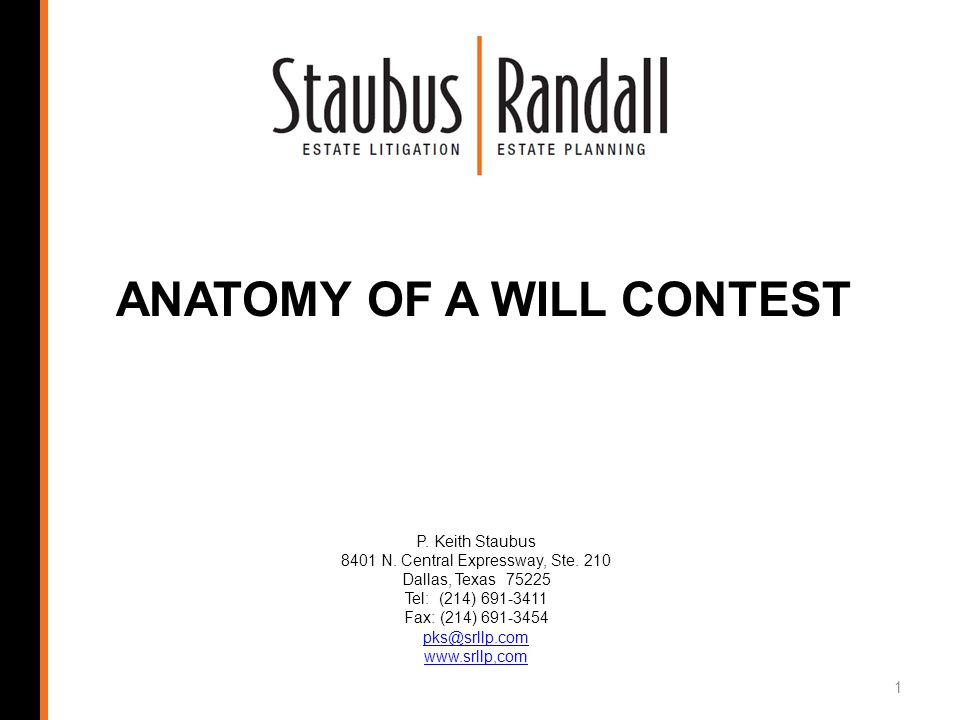 The following is a possible analysis of the contestants case: 82