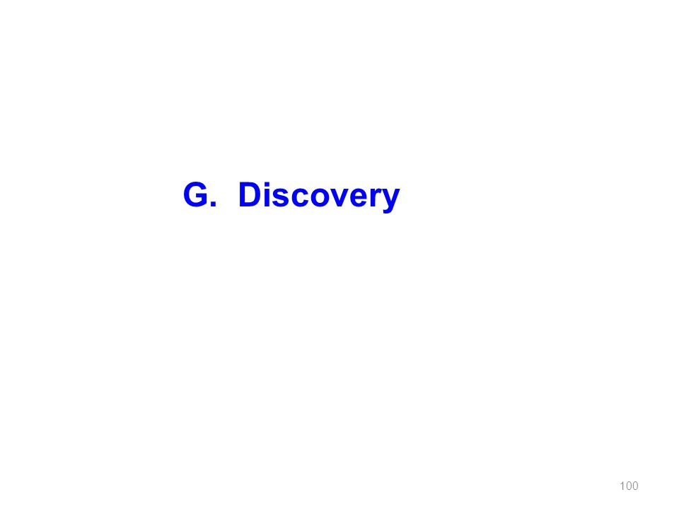 G.Discovery 100