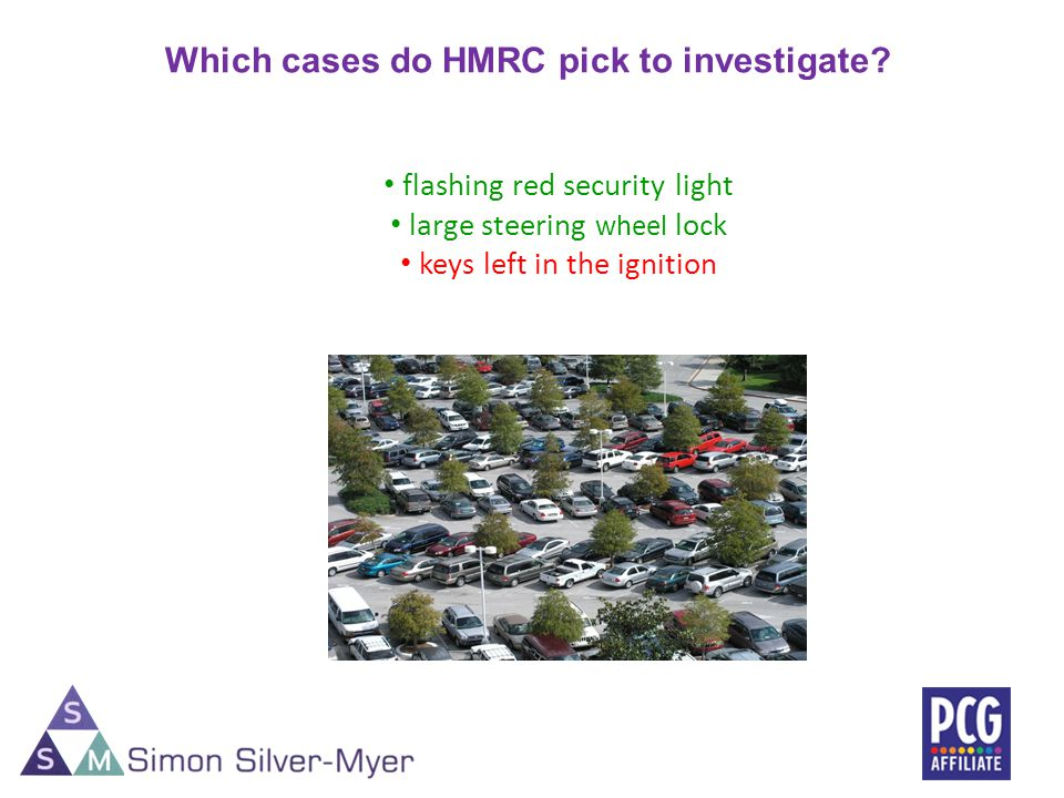 Which cases do HMRC pick to investigate.