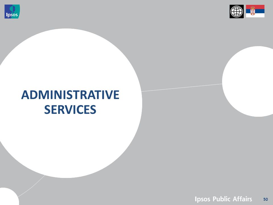 50 ADMINISTRATIVE SERVICES