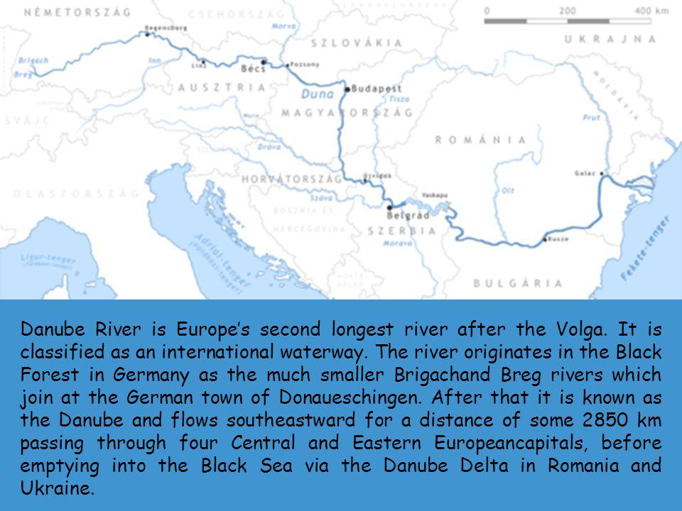 Origin of the river Danube.
