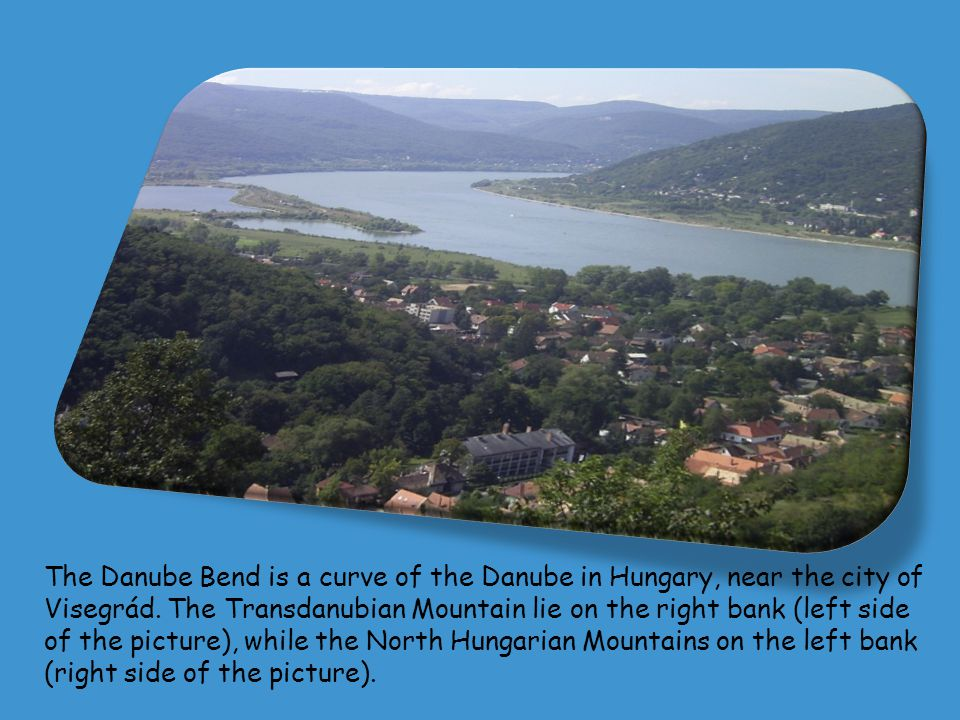 Pictures of the Danube area Hungary Germany Belgrade Austria