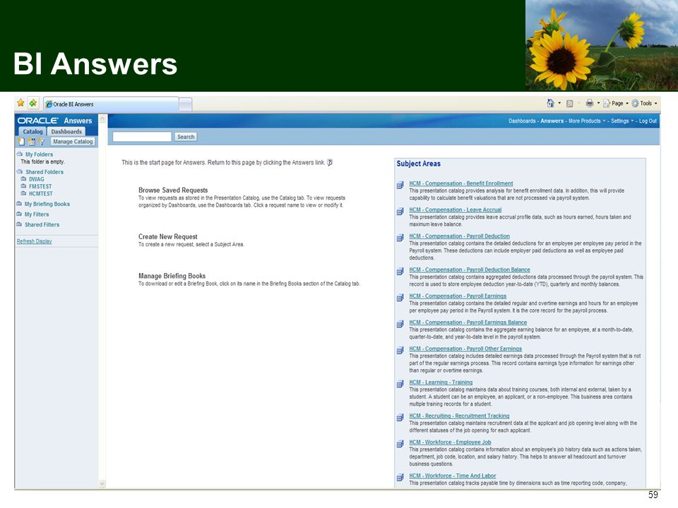 59 BI Answers