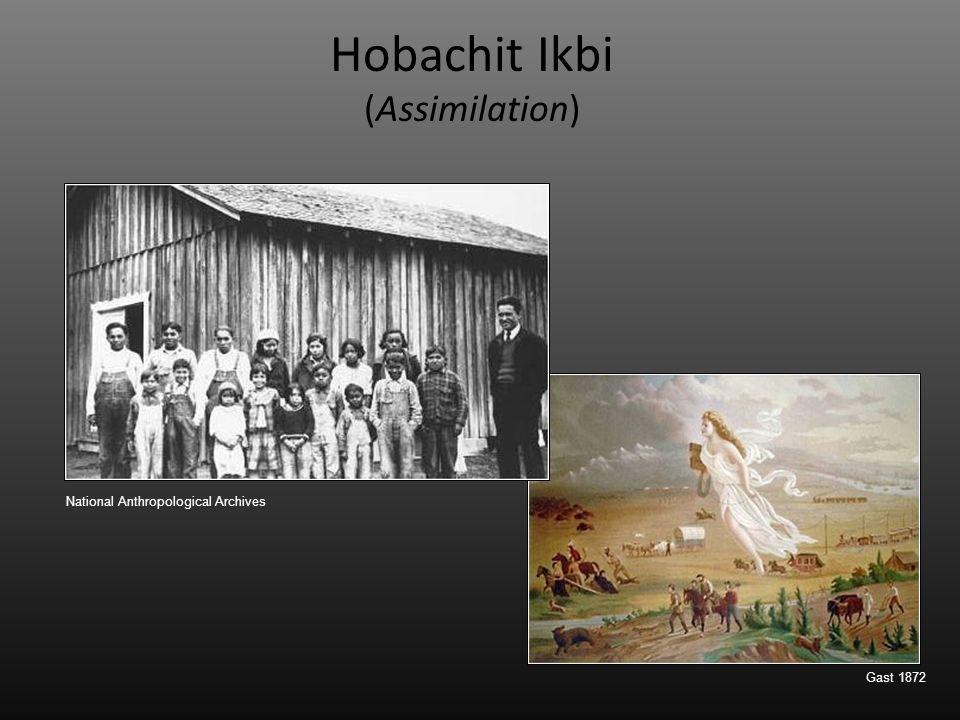 Hobachit Ikbi (Assimilation) Gast 1872 National Anthropological Archives