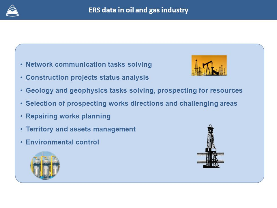 Network communication tasks solving Construction projects status analysis Geology and geophysics tasks solving, prospecting for resources Selection of