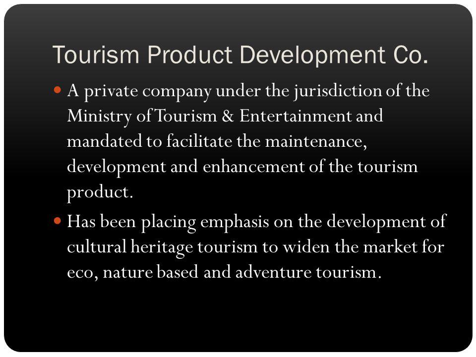 Tourism Product Development Co.