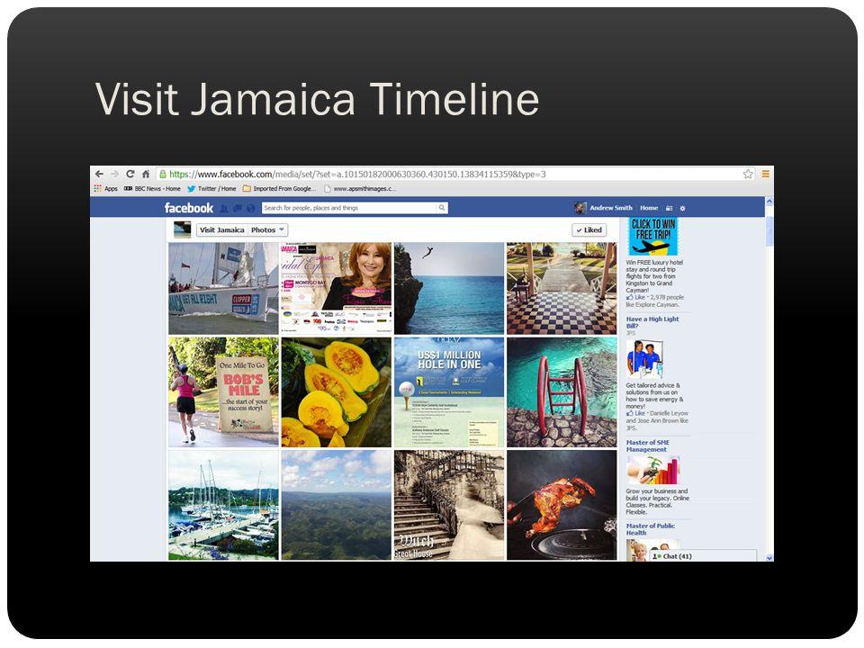 Visit Jamaica Timeline