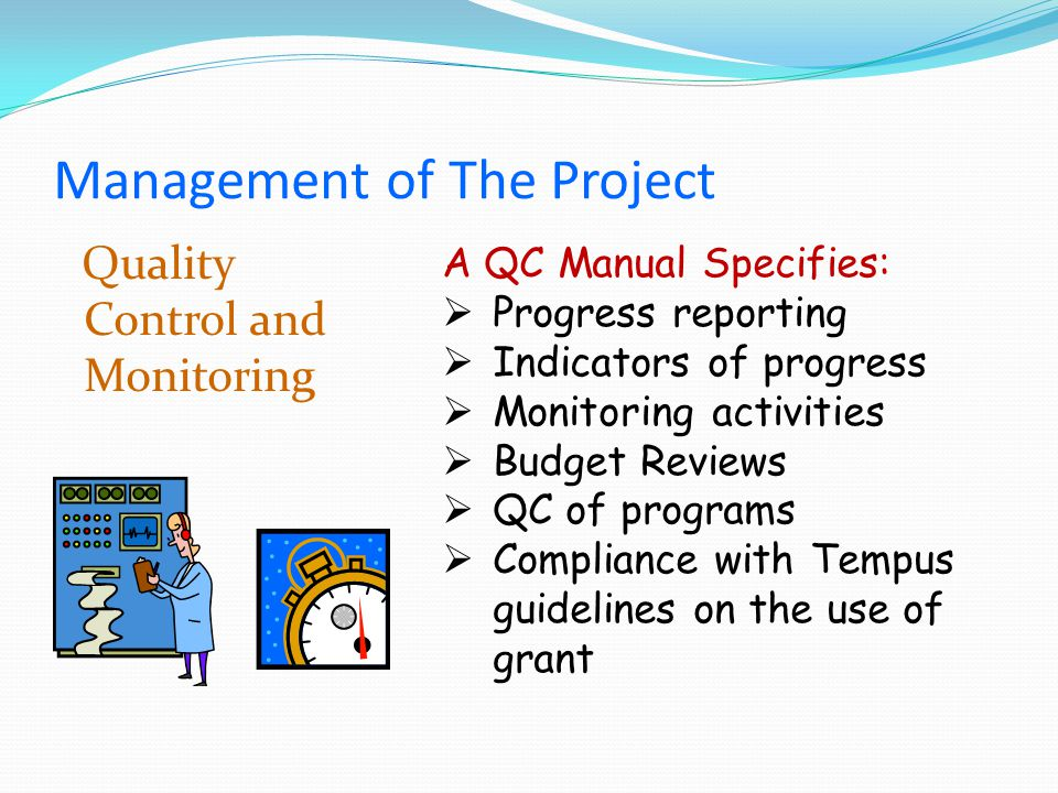 Contents Project SummaryManagement of Tempus Projects Partners Agreement Coordination Meetings Quality Control Financial Management Management of Documentation Progress Report Financial Review Main ChallengesTips and Advice