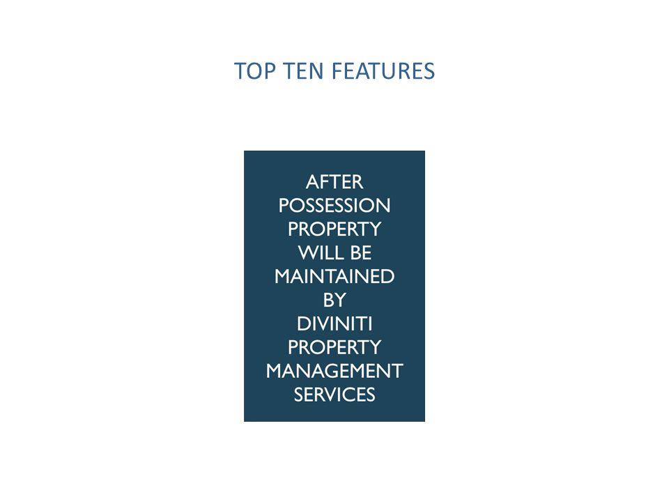 TOP TEN FEATURES