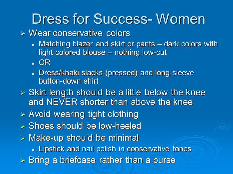 Violations of Dress Code If an employees supervisor determines that an employees clothing fails to meet these standards, the supervisor shall ask the employee not to wear the inappropriate item to work again.
