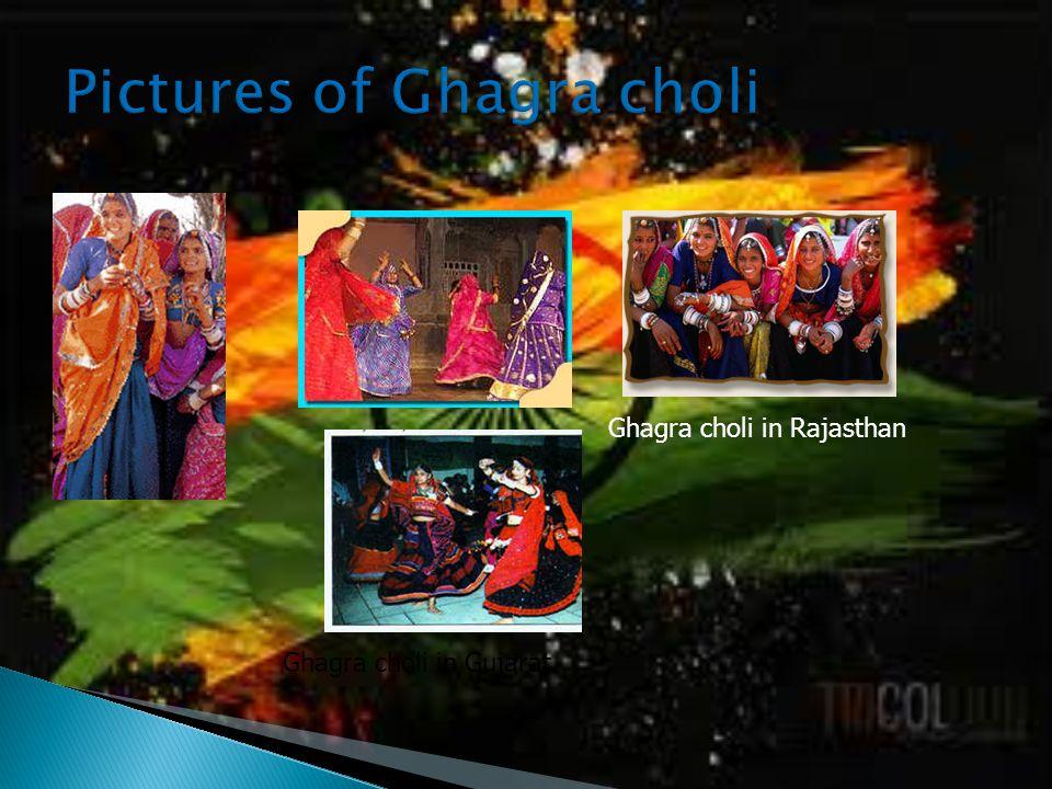 Ghagra choli in Rajasthan Ghagra choli in Gujarat
