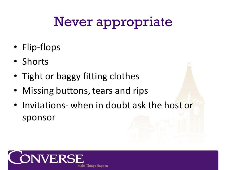 How do you build a good executive wardrobe.