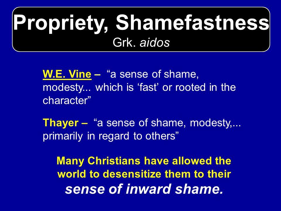 Moderation, Sobriety Grk.sophrosune W.E.
