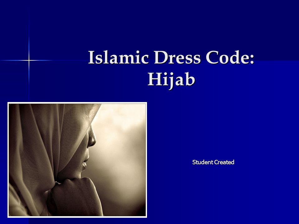 Islamic Dress Code: Hijab Student Created