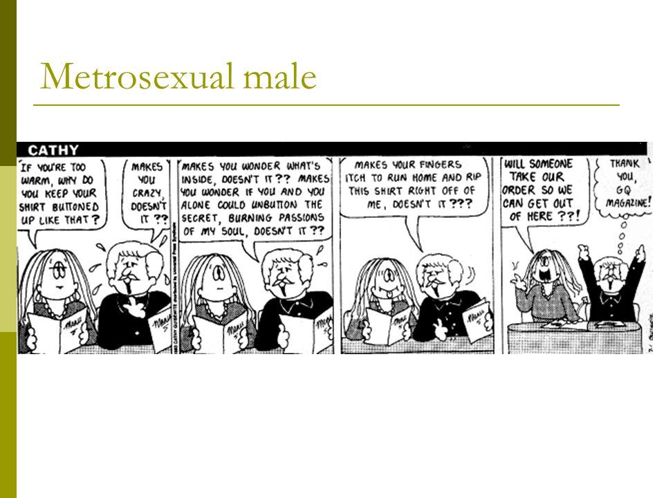 Metrosexual male