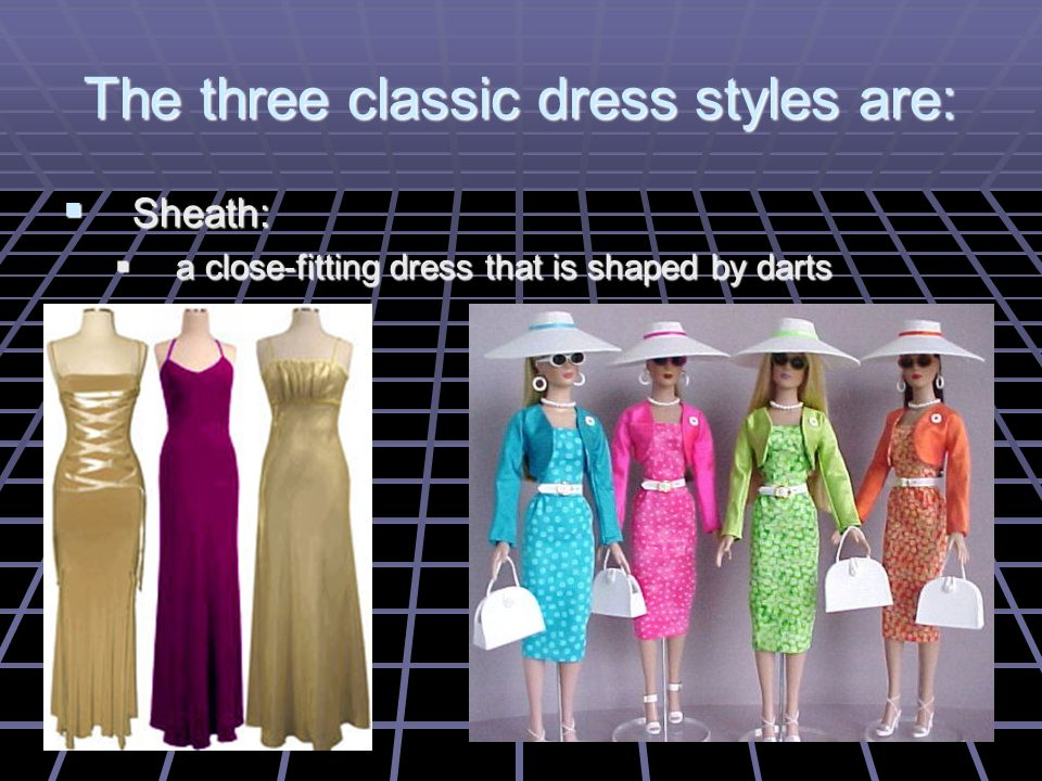 Skirts can be straight, flared or full.Skirts can be straight, flared or full.