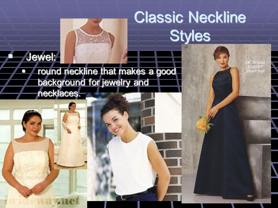 Crew is a high, round neckline finished with a knit band.