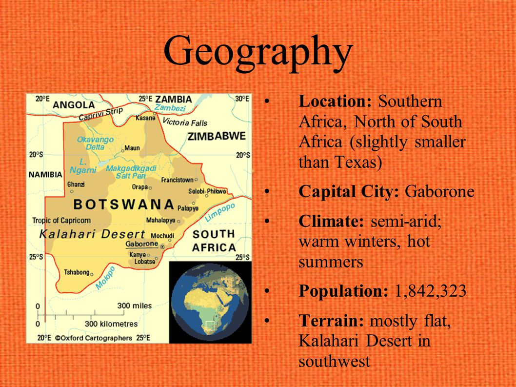 Botswana By: Dara Sturges, Gabby Krieble, Candice Park, and Andy Landschulz