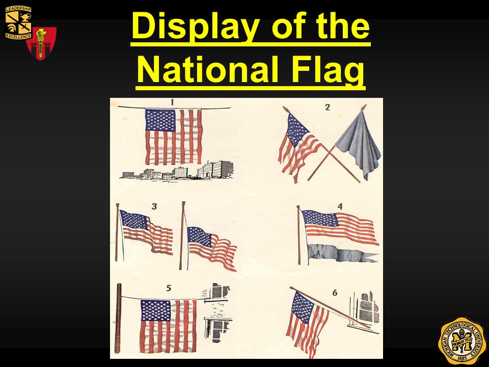 Display of the National Flag