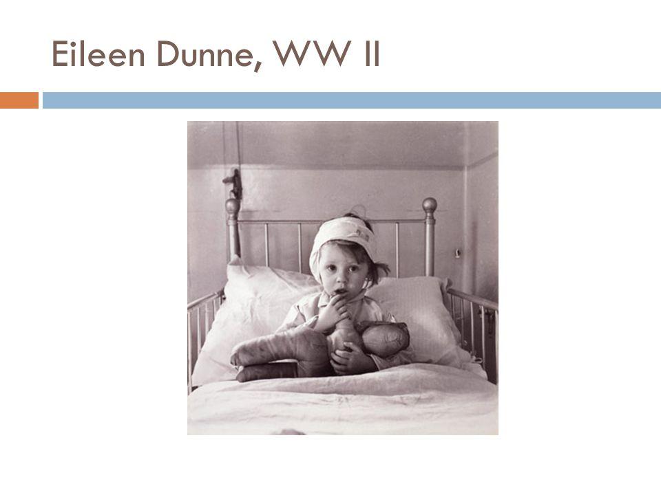 Eileen Dunne, WW II