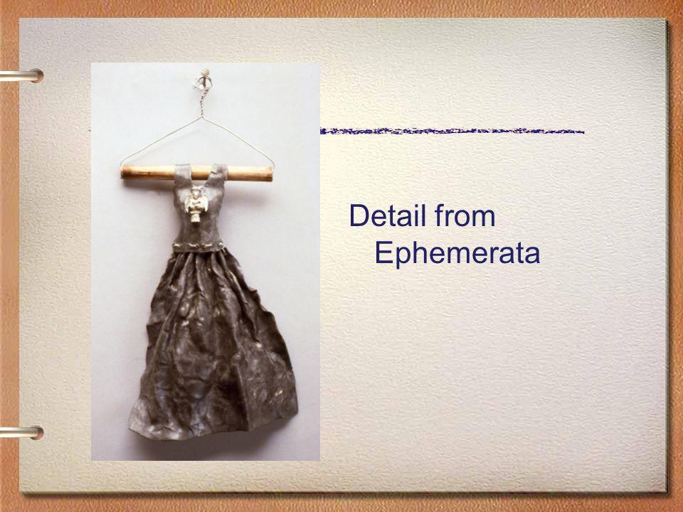 Detail from Ephemerata