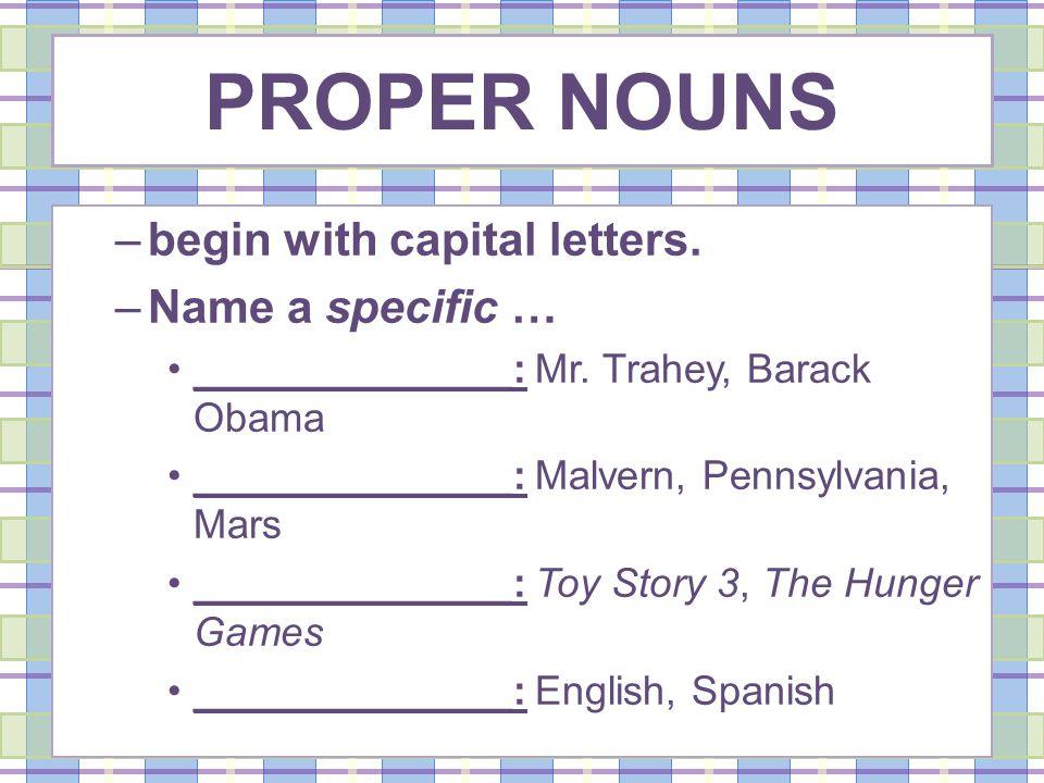 Common Pronouns