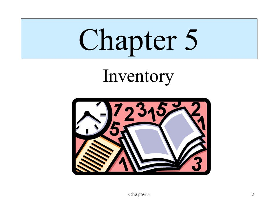 Chapter 52 Inventory