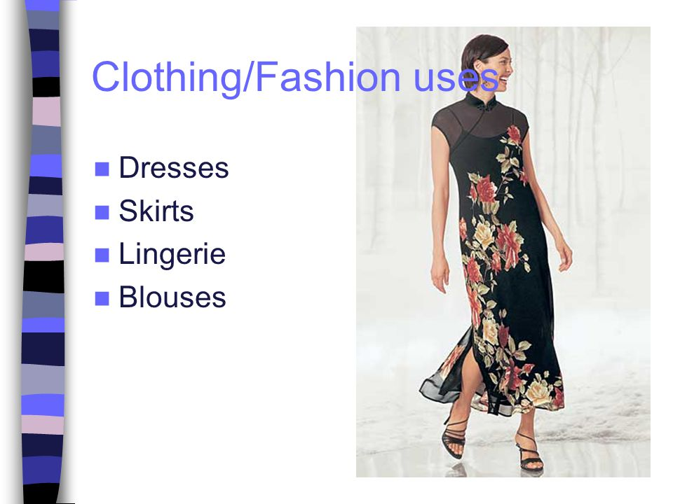 Dresses Skirts Lingerie Blouses Clothing/Fashion uses