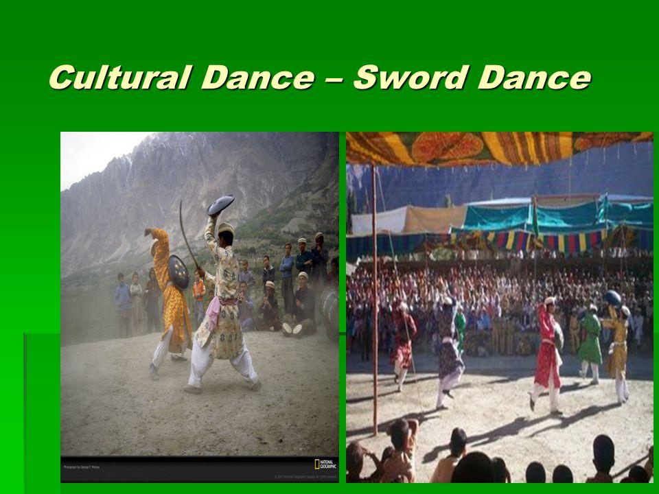 Cultural Dance – Sword Dance