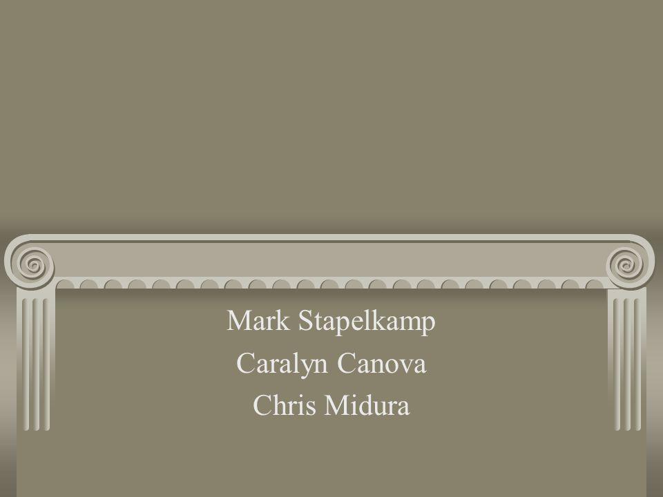 Mark Stapelkamp Caralyn Canova Chris Midura