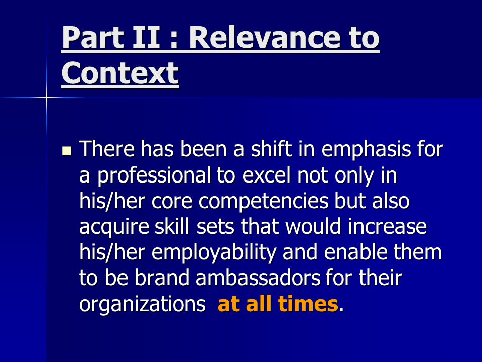 Part III – Business Etiquette Business etiquette is the conventionally accepted norms of professional behavior.