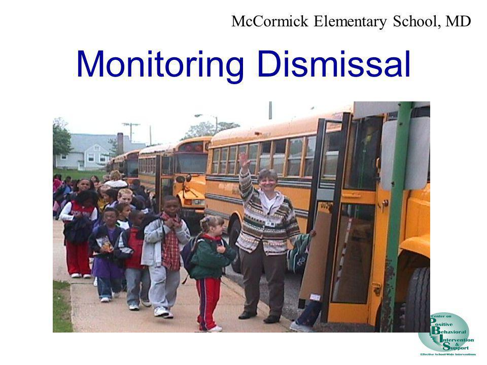 Monitoring Dismissal McCormick Elementary School, MD