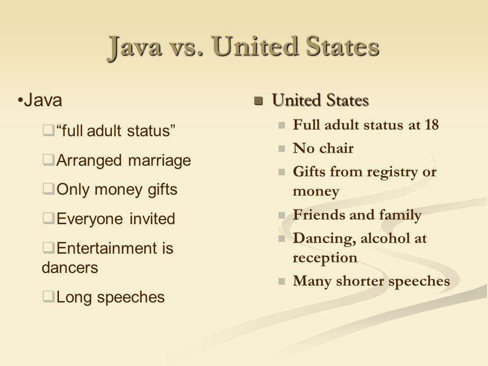 Java vs.