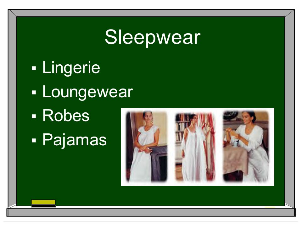 Sleepwear Lingerie Loungewear Robes Pajamas