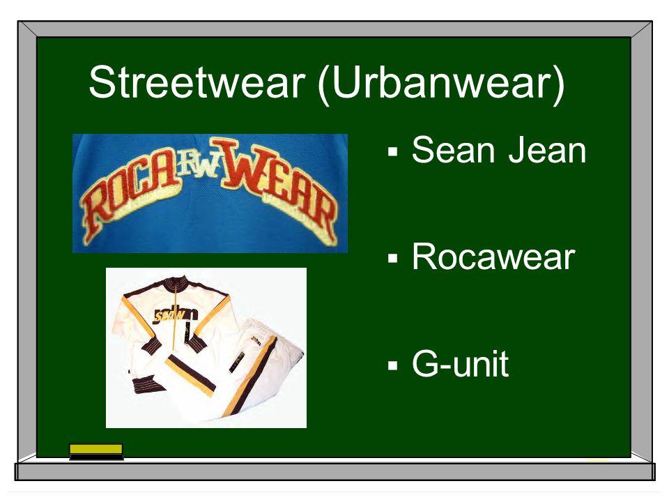 Streetwear (Urbanwear) Sean Jean Rocawear G-unit