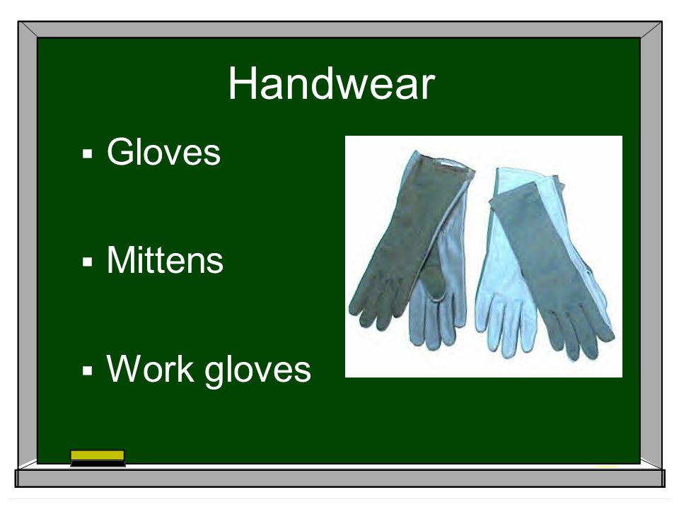 Handwear Gloves Mittens Work gloves