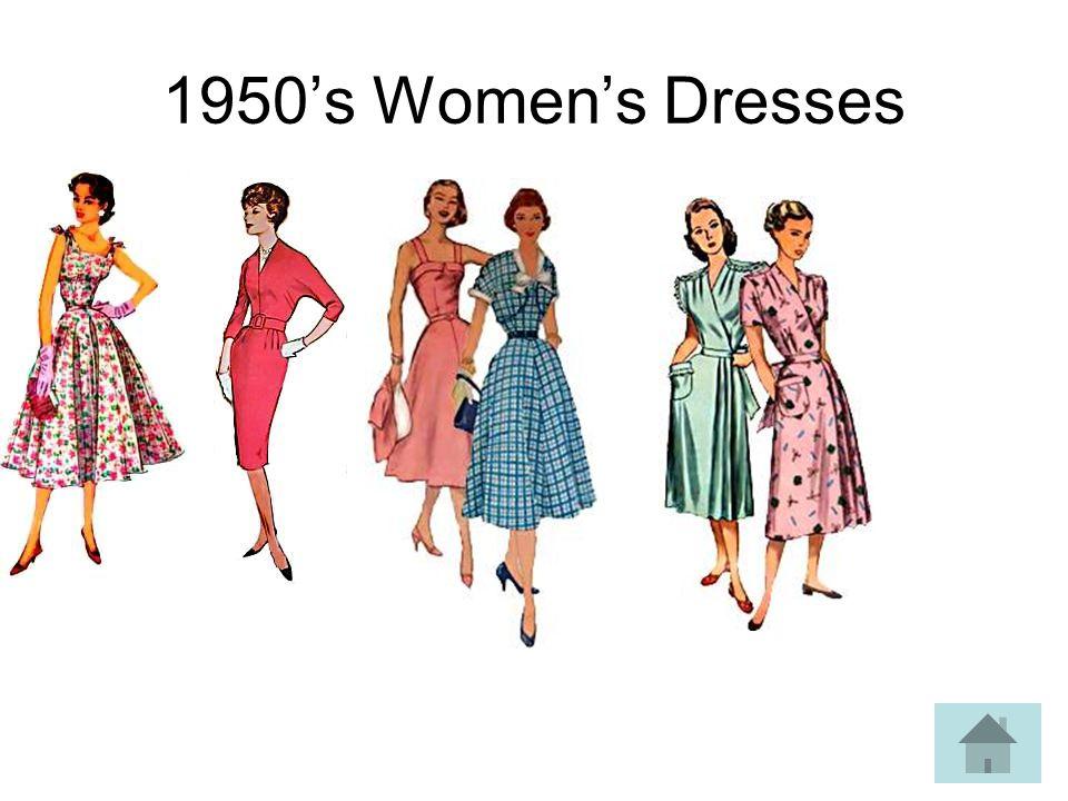 1950s Womens Dresses