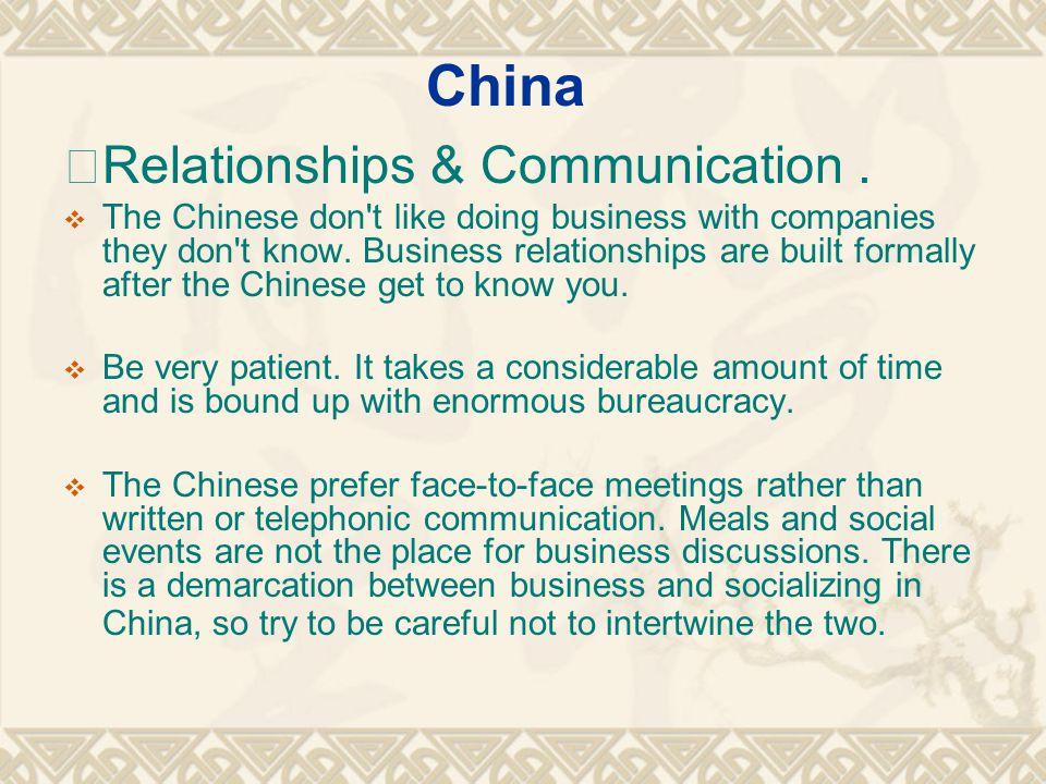 Relationships & Communication.