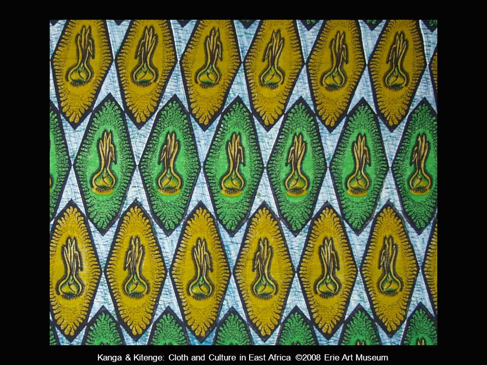 Kanga & Kitenge: Cloth and Culture in East Africa ©2008 Erie Art Museum Sorry for your loss, we hope your heart can find peace.