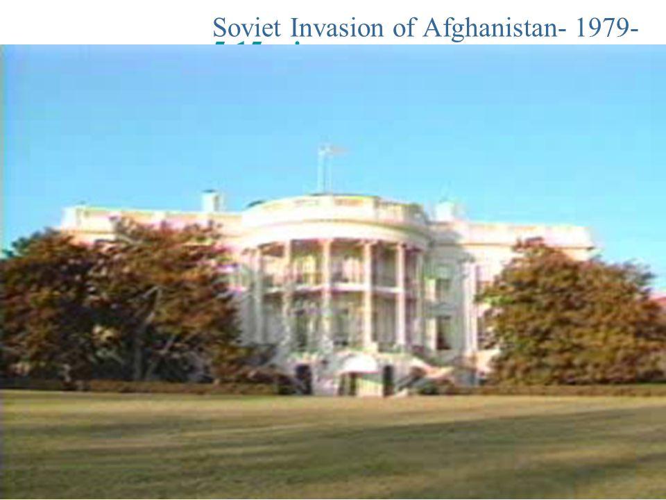 Soviet Invasion of Afghanistan- 1979- 5:15 min.