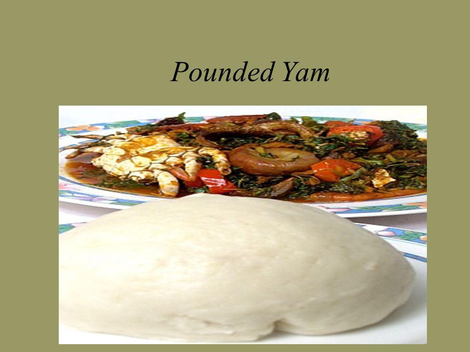 Pounded Yam